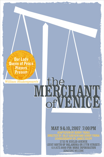 Paper # 6 thoughts on merchant of venice